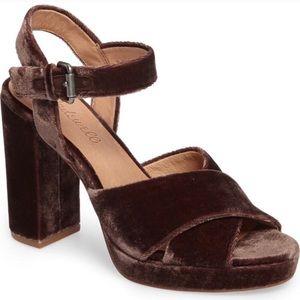 Madewell Vanessa Block Sandal heels